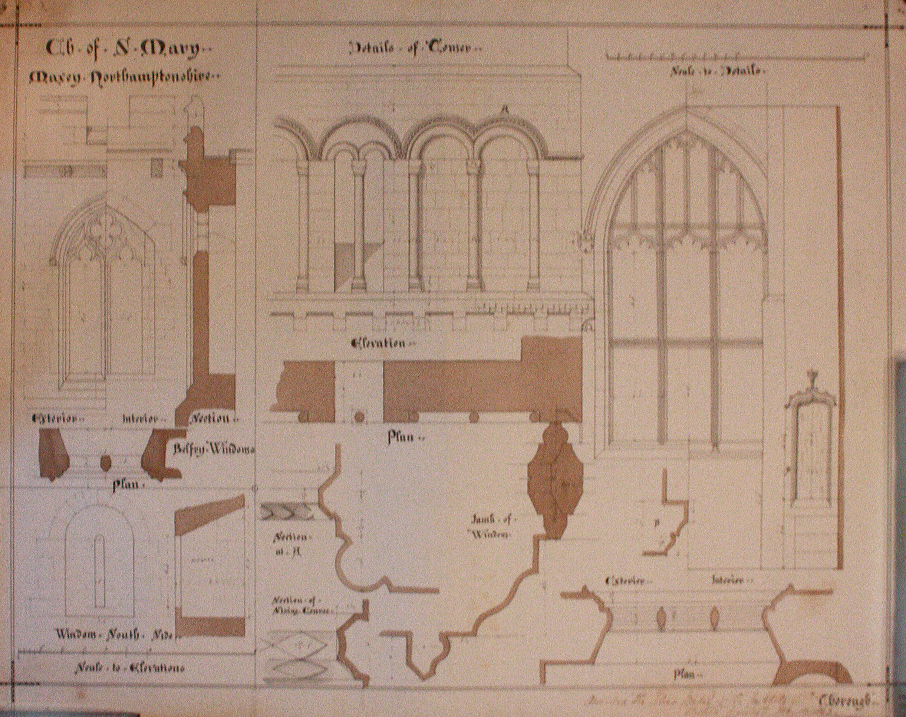 Architectural Drawings and Old M